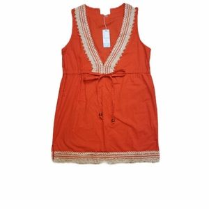 Mud Pie Swimsuit cover up or Short Dress Size S